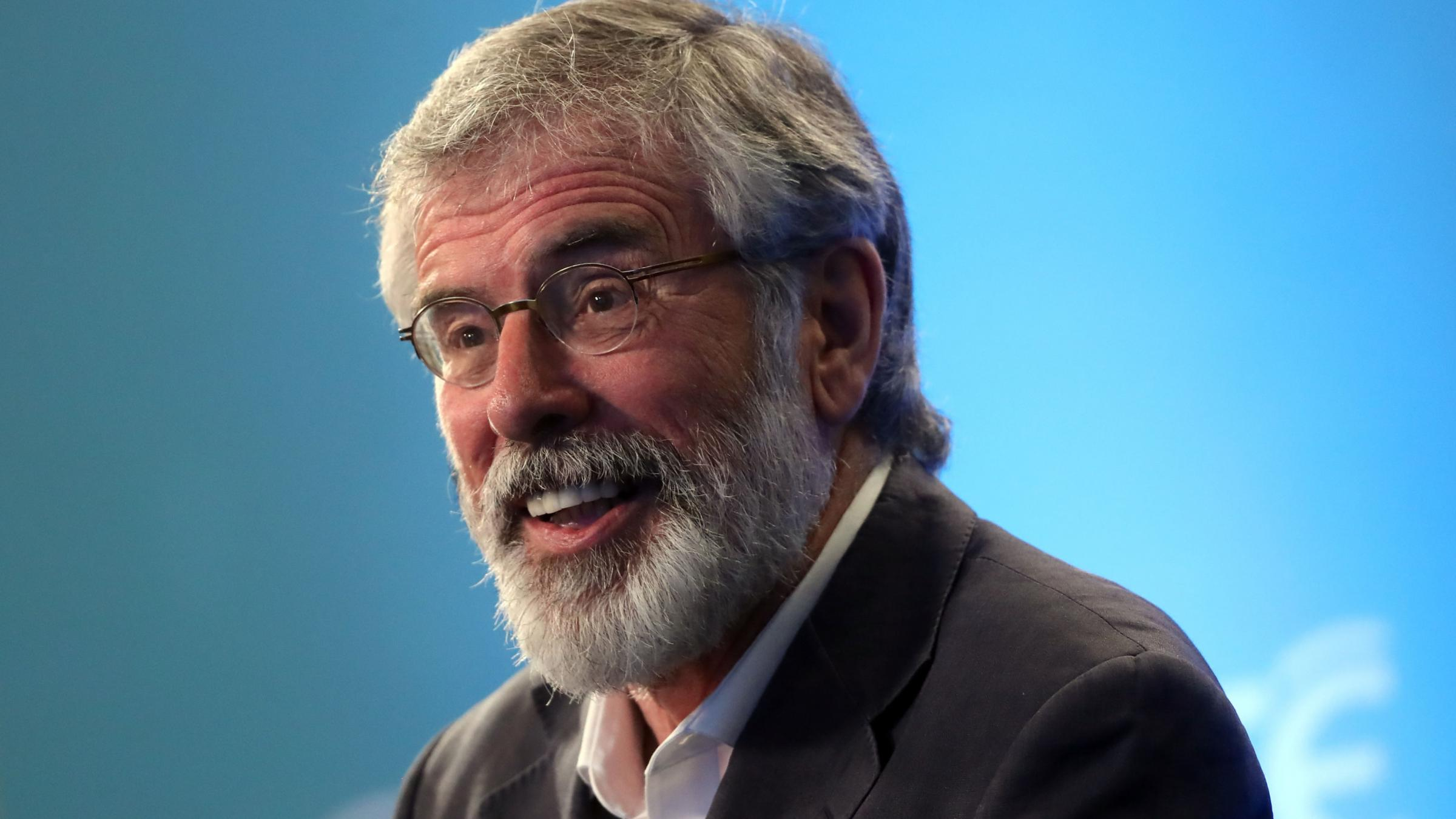 Gerry Adams says Tory and DUP will be a 'coalition of chaos'